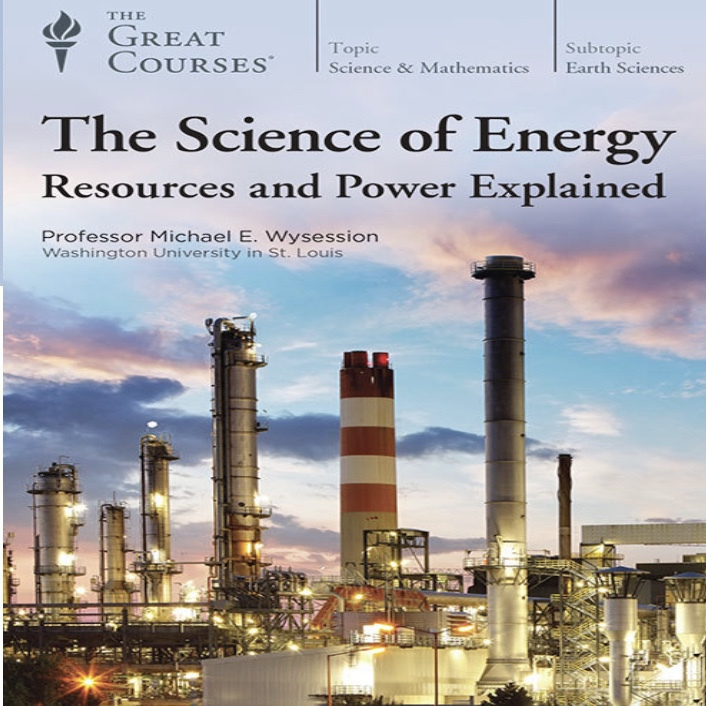 book cover of the science of energy